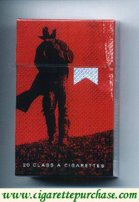 Discount Marlboro Special Edition Barretos 2007 Cowboy acendendo cigarro red cigarettes hard box