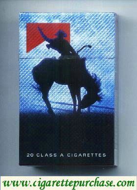 Discount Marlboro Special Edition Barretos 2007 Cowboy domando o cavalo red cigarettes hard box