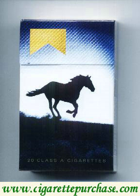 Marlboro Special Edition Barretos 2007 Silhueta de cavalo gold cigarettes hard box
