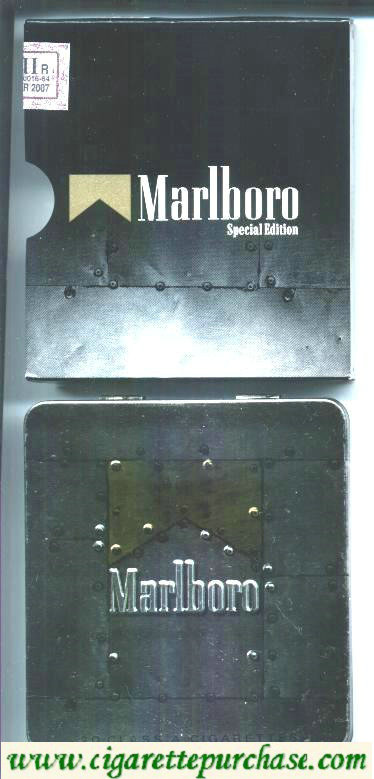 Marlboro Special Edition Lights TIN PACK cigarettes