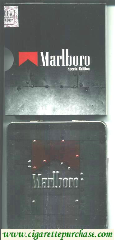 Discount Marlboro Special Edition red TIN PACK cigarettes