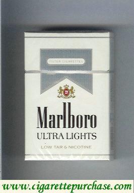 Discount Marlboro Ultra Lights cigarettes hard box