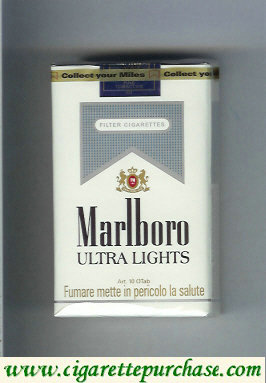 Marlboro Ultra Lights cigarettes soft box