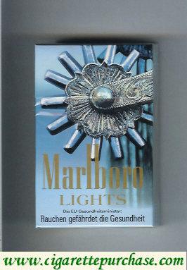 Discount Marlboro collection design 1 Lights 20 cigarettes hard box