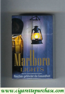 Discount Marlboro collection design 1 Lights 20 filter cigarettes hard box