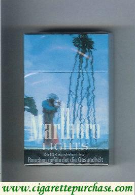 Discount Marlboro collection design 1 Lights 20 hard box filter cigarettes