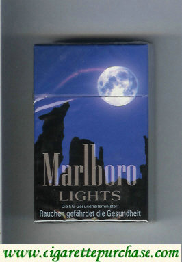 Discount Marlboro collection design 1 Lights Filter cigarettes hard box