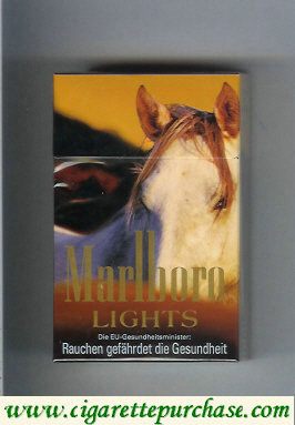 Discount Marlboro collection design 1 Lights King Size cigarettes