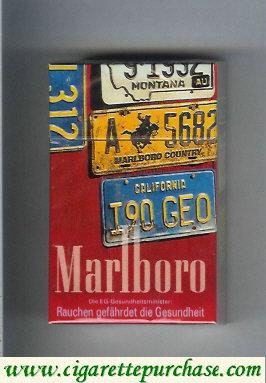 Discount Marlboro collection design 1 hard box cigarettes