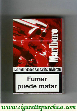 Discount Marlboro collection design Racing Edition cigarettes hard box