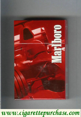 Discount Marlboro collection design Racing Edition hard box filter cigarettes