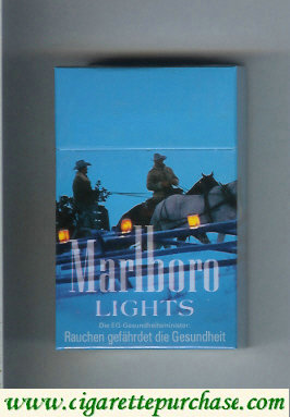 Discount Marlboro filter cigarettes Lights hard box