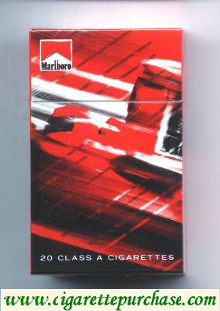Discount Marlboro filter cigarettes collection design Racing Edition hard box