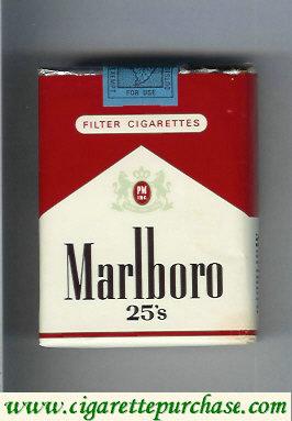 Discount Marlboro red and white 25s cigarettes soft box