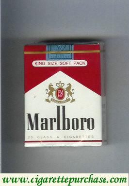 Discount Marlboro red and white cigarettes soft box