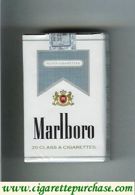 Marlboro white and grey cigarettes soft box