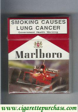 Discount Marlboro with Ferrari 25 cigarettes hard box