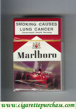 Discount Marlboro with Ferrari cigarettes hard box