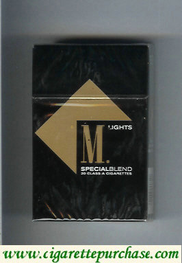 Marlboro Special Blend Lights cigarettes hard box
