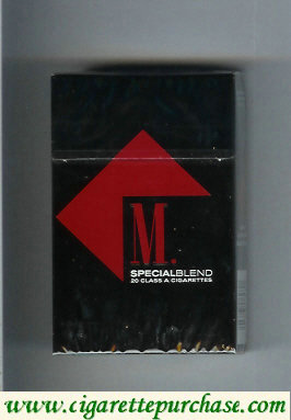 Marlboro Special Blend cigarettes hard box