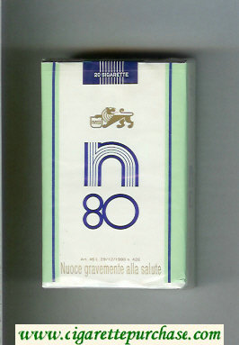 N 80 cigarettes soft box