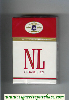 NL cigarettes hard box