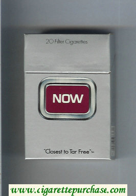 Discount Now cigarettes hard box
