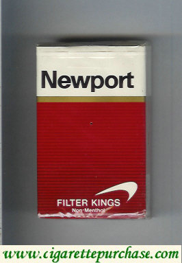 Newport Filter Non Menthol cigarettes soft box