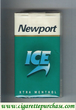 Discount Newport Ice XTRA Menthol 100s cigarettes soft box