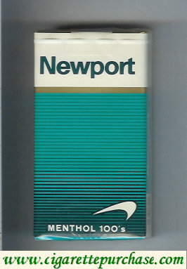 Discount Newport Menthol 100s cigarettes soft box