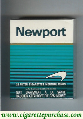 Discount Newport Menthol 25 cigarettes hard box