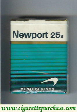Discount Newport Menthol 25 cigarettes soft box