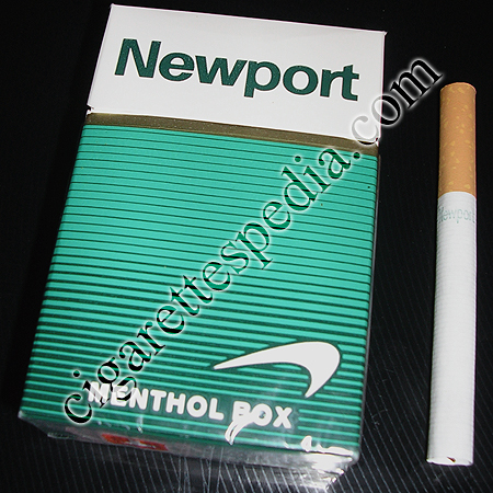 Discount Newport Menthol cigarettes hard box