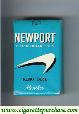 Newport Menthol old design Filter Cigarettes cigarettes soft box