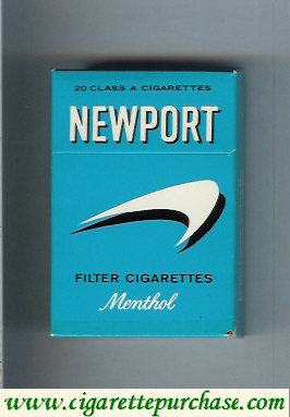 Newport Menthol old design Filter Cigarettes hard box