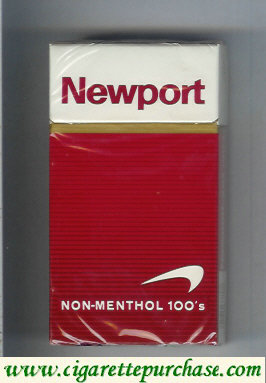 Discount Newport Non Menthol 100s cigarettes hard box