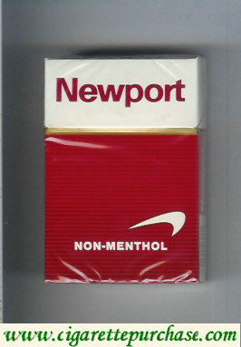 Discount Newport Non Menthol cigarettes hard box