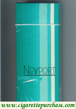 Discount Newport Slim 120s cigarettes hard box