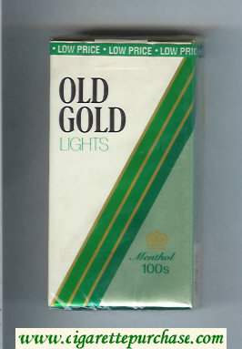 Discount Old Gold Lights Menthol 100s cigarettes soft box