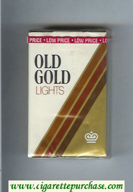 Discount Old Gold Lights cigarettes soft box