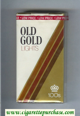 Discount Old Gold Lights 100s cigarettes soft box