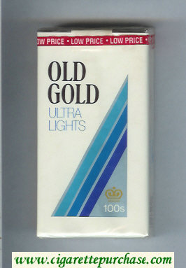 Discount Old Gold Ultra Lights 100s cigarettes soft box