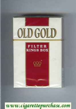Discount Old Gold Filter Kings Box cigarettes hard box