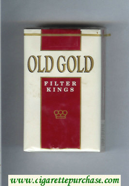 Discount Old Gold Filter Kings cigarettes soft box