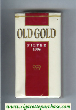 Discount Old Gold Filter 100s cigarettes soft box