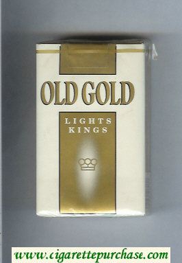 Discount Old Gold Lights Kings cigarettes soft box