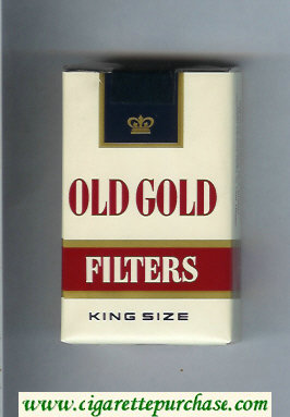 Discount Old Gold Filter King Size cigarettes soft box