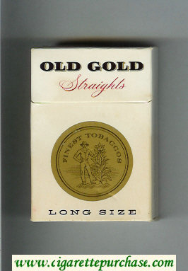 Discount Old Gold Straights Long Size cigarettes hard box