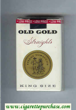 Discount Old Gold Straights King Size cigarettes soft box
