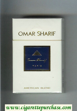 Omar Sharif cigarettes hard box